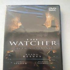 Cinema: DVD THE WATCHER/PRECINTADO. Lote 215683890