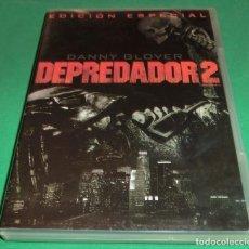 Cine: DVD DEPREDADOR 2 - EDICIÓN ESPECIAL / DANNY GLOVER (UN SOLO PASE)PERFECTO ESTADO!!. Lote 215897746