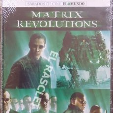 Cine: MATRIX - REVOLUTIONS - DVD CINE - NUEVA PRECINTADA. Lote 216370723
