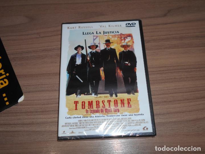 TOMBSTONE LA LEYENDA DE WYATT EARP DVD KURT RUSSELL VAL KILMER NUEVA PRECINTADA (Cine - Películas - DVD)