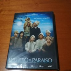 Cinéma: PREFIERO EL PARAISO. GIGI PROIETTI. DVD PRECINTADO. SIN ABRIR.. Lote 216630668