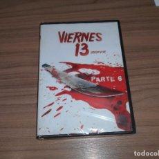 Cine: VIERNES 13 PARTE 6 DVD TERROR NUEVA PRECINTADA. Lote 216971616