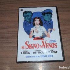 Cine: EL SIGNO DE VENUS DVD VITTORIO DE SICA SOPHIA LOREN RAF VALLONE NUEVA PRECINTADA. Lote 295626433