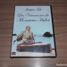 Cine: LAS VACIONES DE MONSIEUR HULOT DVD DE JAQUES TATI NUEVA PRECINTADA. Lote 295626573
