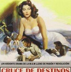 Cinema: CRUCE DE DESTINOS (AVA GARDNER, STEWART GRANGER) - DVD NUEVO Y PRECINTADO. Lote 217090146