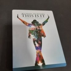 Cinéma: ST 4 THIS IS IT- DVD SEGUNDA MANO STEELBOOK. Lote 217114243