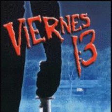 Cine: VIERNES 13 DIRECTOR: SEAN S. CUNNINGHAM ACTORES: BETSY PALMER, KEVIN BACON, HARRY CROSBY. Lote 217133047