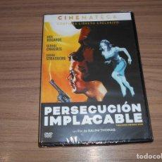 Cine: PERSECUCION IMPLACABLE EDICION ESPECIAL DVD + LIBRO DIRK BOGARDE NUEVA PRECINTADA. Lote 289507573