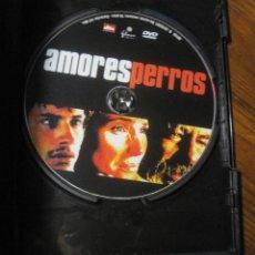 Cine: AMORES PERROS DVD- ALEJANDRO GONZALEZ IÑARRITU. Lote 217157660