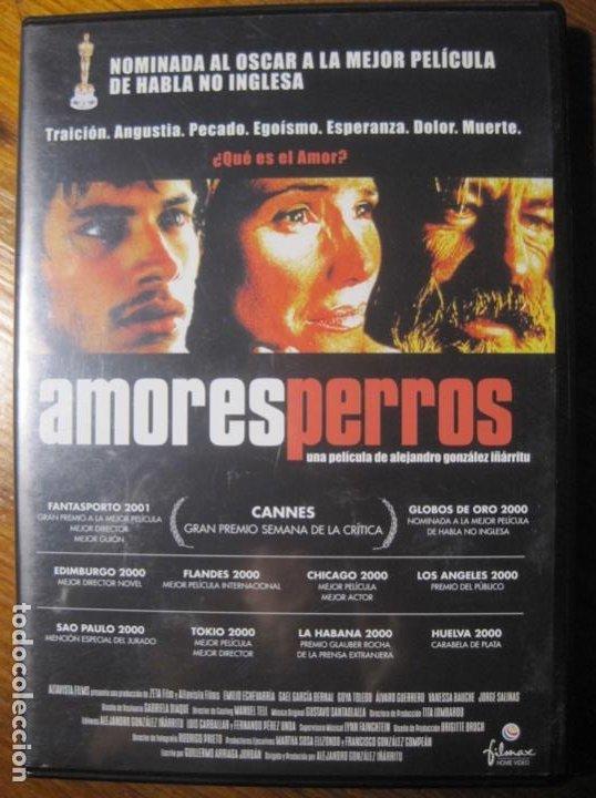 Cine: Amores Perros Dvd- Alejandro Gonzalez Iñarritu - Foto 2 - 217157660