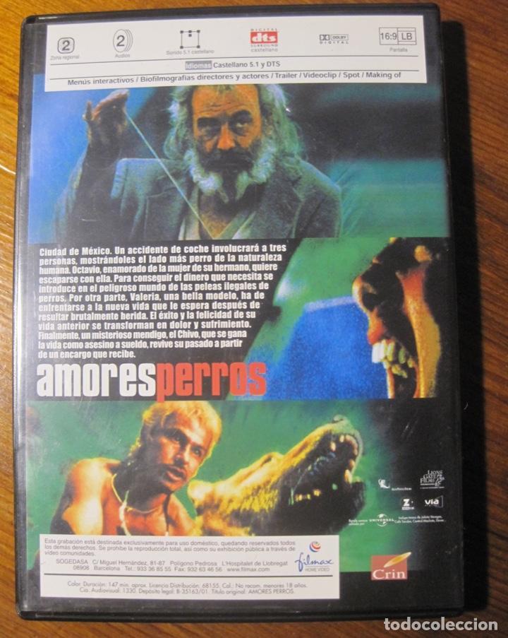 Cine: Amores Perros Dvd- Alejandro Gonzalez Iñarritu - Foto 4 - 217157660