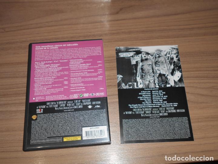 Cine: REVISTA CHAPLIN Edicion Especial 2 DVD Warner CHARLES CHAPLIN Como NUEVA - Foto 2 - 262849780
