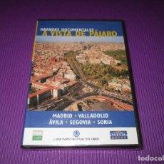 Cine: GRANDES DOCUMENTALES (A VISTA DE PAJARO / MADRID - VALLADOLID - AVILA - SEGOVIA - SORIA) -DVD- NUEVA. Lote 217370925