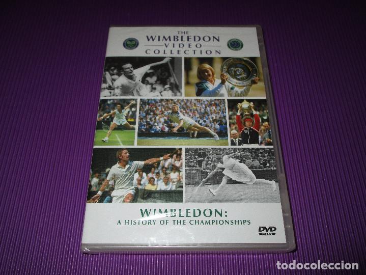 WIMBLEDON ( A HISTORY OF THE CHAMPIONSHIPS ) - DVD - PRECINTADA - THE WIMBLEDON VIDEO COLLECTION (Cine - Películas - DVD)