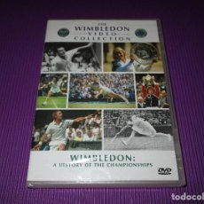 Cine: WIMBLEDON ( A HISTORY OF THE CHAMPIONSHIPS ) - DVD - PRECINTADA - THE WIMBLEDON VIDEO COLLECTION. Lote 217371307