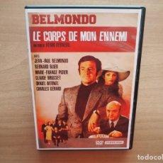 Cinema: LE CORPS DE MON ENNEMI - HENRY VERNEUIL, JEAN-PAUL BELMONDO, BERNARD BLIER - EN FRANCÉS. Lote 217467053