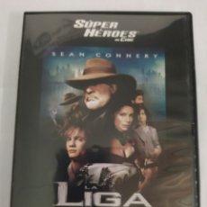 Cine: LA LIGA DE LOS HOMBRES EXTRAORDINARIOS, EN DVD, SÚPER HÉROES DE CINE.. Lote 217528850