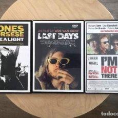 Cine: LOTE DVD MÚSICA LAST DAYS ROLLING STONES BOB DYLAN. Lote 217582447