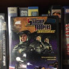 Cinema: STARSHIP TROOPERS MISIÓN PLUTON DVD CIENCIA FICCIÓN ANIMACIÓN. Lote 217746426