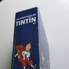Cine: LAS AVENTURAS DE TINTIN ( 25 DVD ) COLECCIÓN COMPLETA. Lote 217811270