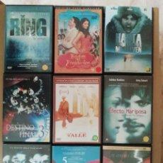 Cine: LOTE DE 100 DVDS VARIADOS PROCEDENTES DE VIDEOCLUB- ADMITO OFERTAS SUELTOS- VER FOTOS. Lote 217909017