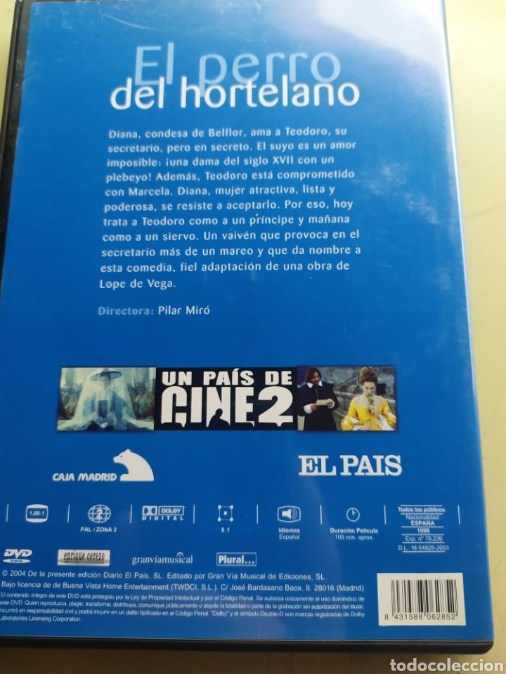 Cine: El perro del hortelano / DVD original / colección un país de cine 2 - Foto 2 - 217962112