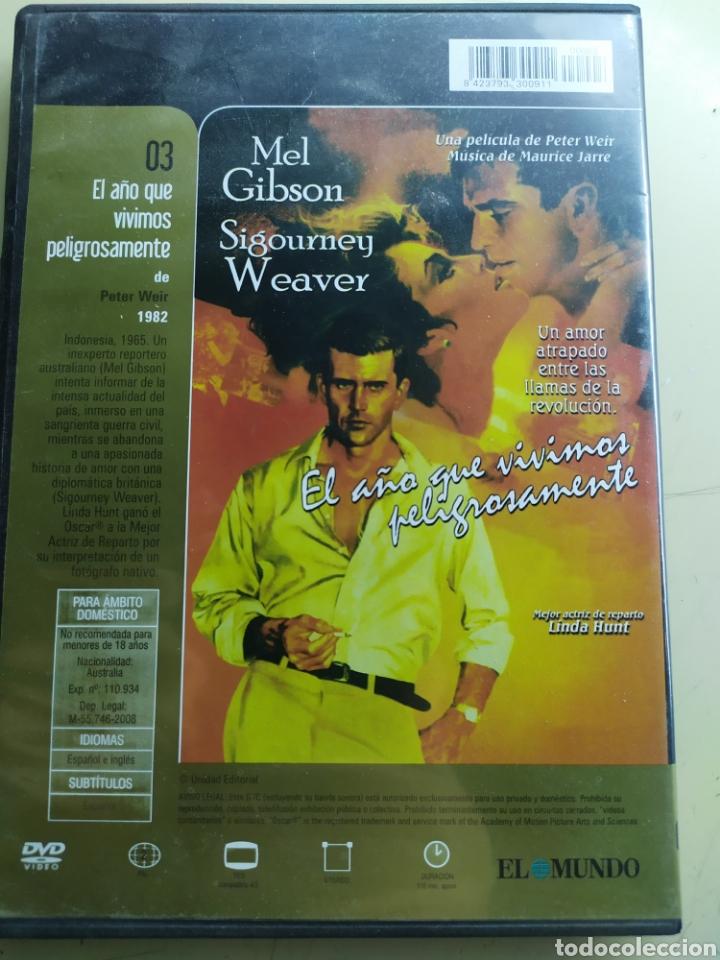 Cine: El año que vivimos peligrosamente / DVD original - Foto 2 - 217962198