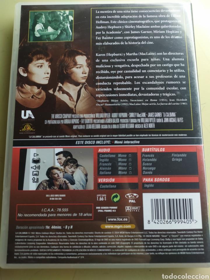 Cine: La calumnia / DVD original / Audrey Hepburn , Shirley MacLaine y James Garner - Foto 2 - 217962392