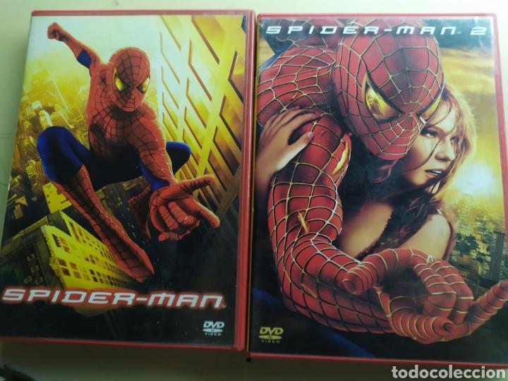 SPIDER-MAN Y SPIDER-MAN 2 / 2 DVD ORIGINALES (Cine - Películas - DVD)