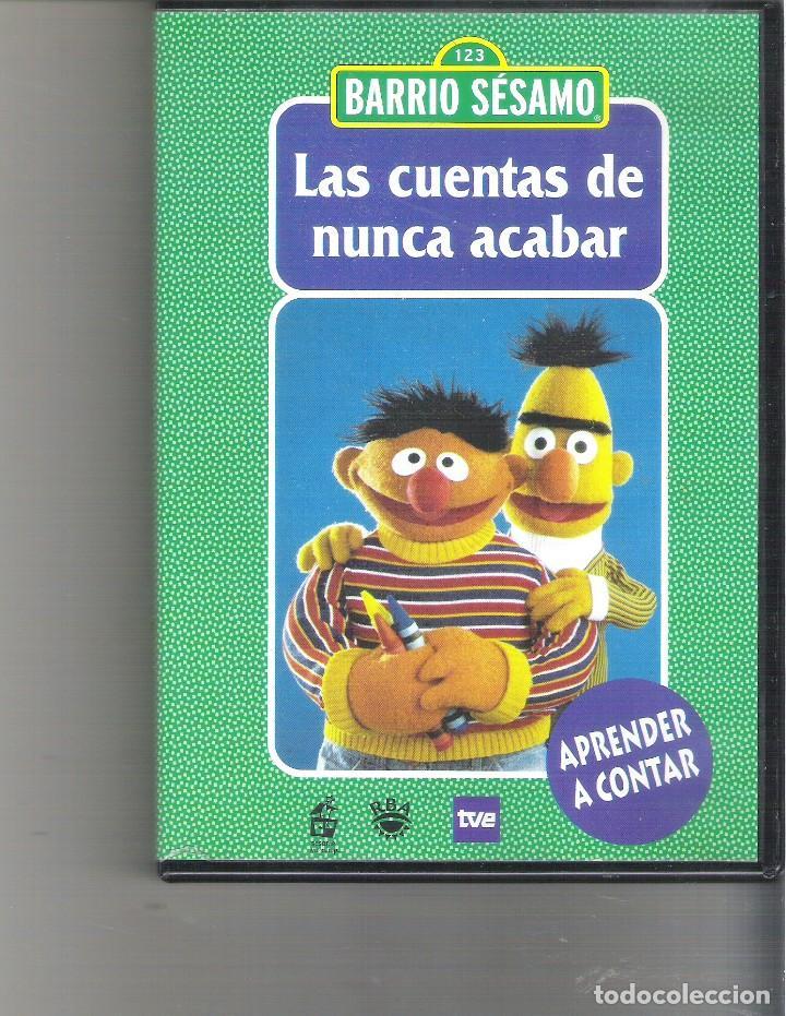 1 Dvd Infantil Barrio Sesamo Las Cuentas De Comprar Películas En Dvd En Todocoleccion 217975002