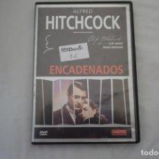 Cinéma: 10-B2 - DVD - ENCADENADOS / ALFRED HITCHCOCK. Lote 218026265