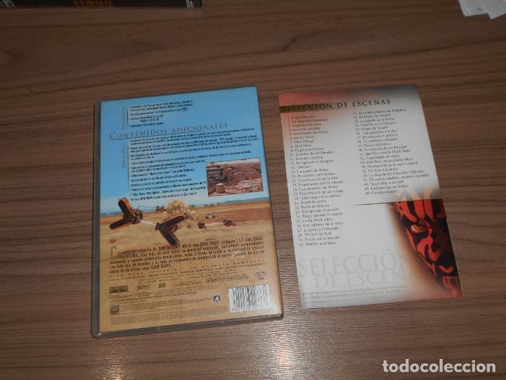 Cine: STAR WARS I La AMENAZA FANTASMA Edicion Especial 2 DVD - Foto 2 - 218079853