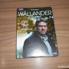 Cine: WALLANDER VOLUMEN 3 2 DVD 270 MIN. NUEVA PRECINTADA. Lote 243767545
