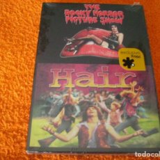 Cine: THE ROCKY HORROR PICTURE + HAIR - EXCLUSIVA FNAC 2 DISCOS RARA. Lote 218249398
