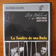 Cine: DVD LA SOMBRA DE UNA DUDA - ALFRED HITCHCOCK, JOSEPH COTTEN (HP). Lote 218317227