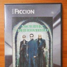 Cine: DVD MATRIX RELOADED - EL PAIS - CAJA SLIM (HP). Lote 218317460