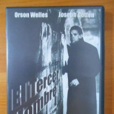 Cine: DVD EL TERCER HOMBRE - ORSON WELLES, JOSEPH COTTEN - INCLUYE LIBRETO (HP1). Lote 218321678
