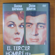 Cine: DVD EL TERCER HOMBRE ERA MUJER - SUSAN HAYWARD, DEAN MARTIN (HP1). Lote 218321862