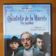 Cine: DVD EL QUINTETO DE LA MUERTE (THE LADYKILLERS) - ALEC GUINESS, PETER SELLERS (HP1). Lote 218322255