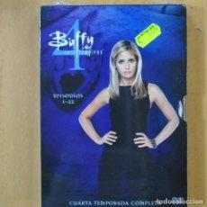 Cine: BUFFY CAZAVAMPIROS - CUARTA TEMPORADA COMPLETO - 6 DVD. Lote 218357110