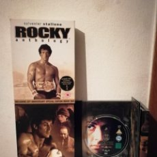 Cine: PACK 5 DISCOS - ROCKY ANTHOLOGY 25 AÑOS - VOSE - SYLVESTER STALLONE. Lote 218449172