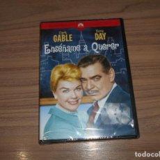 Cine: ENSEÑAME A QUERER DVD CLARK GABLE DORIS DAY NUEVA PRECINTADA. Lote 218462283
