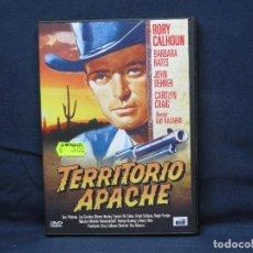 Cine: TERRITORIO APACHE - DVD. Lote 218491522