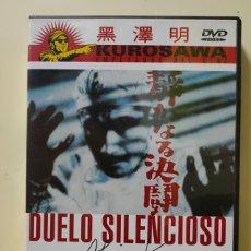 Cine: DVD DUELO SILENCIOSO DE AKIRA KUROSAWA NUEVO DESCATALOGADO.. Lote 218491975