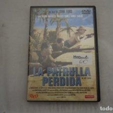 Cinema: (2-B5) - 1 X DVD - LA PATRULLA PERDIDA - VICTOR MCLAGLEN, VALLACE FORD / JOHN FORD. Lote 218571835