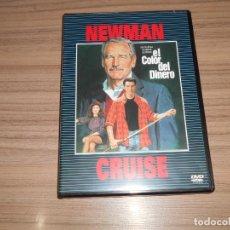 Cine: EL COLOR DEL DINERO DVD TOM CRUISE PAUL NEWMAN COMO NUEVA. Lote 218636362
