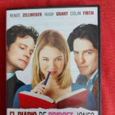 Cine: EL DIARIO DE BRIDGET JONES - HUGH GRANT,COLIN FIRTH,RENEE ZELLWEGER DVD. Lote 218694157