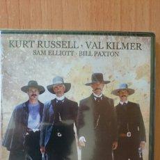 Cine: DVD TOMBSTONE, LA LEYENDA DE WYATT EARP CON KURT RUSSELL Y VAL KILMER, PRECINTADO. Lote 218864466