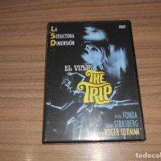 Cine: EL VIAJE THE TRIP 1967 DVD DE ROGER CORMAN PETER FONDA NUEVA PRECINTADA. Lote 218918455