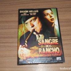 Cine: SANGRE EN EL RANCHO DVD ORSON WELLES JEFF CHANDLER NUEVA PRECINTADA. Lote 218918943